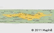 Savanna Style Panoramic Map of Pozega-Slavonija