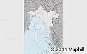 Gray Map of Primorje-Gorski Kotar