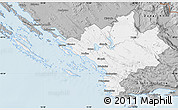 Gray Map of Sibenik