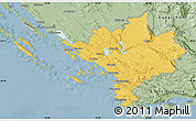 Savanna Style Map of Sibenik
