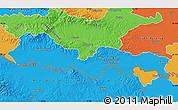 Political Map of Slavonski Brod-Posavina