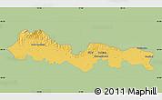 Savanna Style Map of Slavonski Brod-Posavina, single color outside