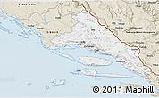 Classic Style 3D Map of Split-Dalmatija