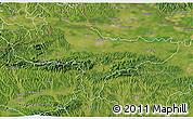 Satellite 3D Map of Varazdin
