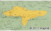 Savanna Style 3D Map of Varazdin