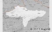 Gray Map of Varazdin