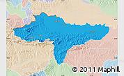Political Map of Varazdin, lighten