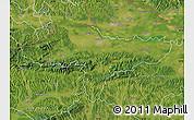 Satellite Map of Varazdin