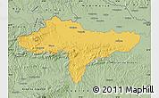 Savanna Style Map of Varazdin
