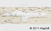 Classic Style Panoramic Map of Varazdin