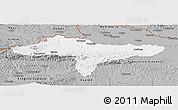 Gray Panoramic Map of Varazdin