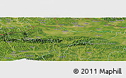 Satellite Panoramic Map of Varazdin