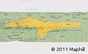 Savanna Style Panoramic Map of Varazdin