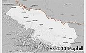 Gray 3D Map of Virovitica-Podravina