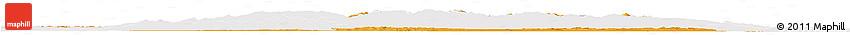 Political Horizon Map of Virovitica-Podravina, single color outside
