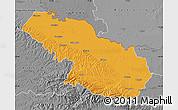 Political Map of Virovitica-Podravina, desaturated