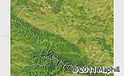 Satellite Map of Virovitica-Podravina