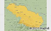 Savanna Style Map of Virovitica-Podravina