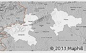 Gray Map of Zagreb