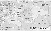 Silver Style Map of Zagreb