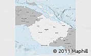 Gray 3D Map of Camaguey