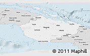 Silver Style Panoramic Map of Camaguey