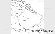 Blank Simple Map of Camaguey
