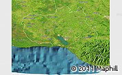 Satellite 3D Map of Cienfuegos