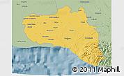 Savanna Style 3D Map of Cienfuegos