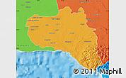 Political Map of Cienfuegos