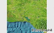 Satellite Map of Cienfuegos