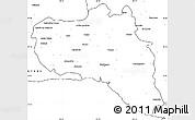 Blank Simple Map of Cienfuegos