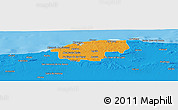 Political Panoramic Map of Ciudad de la Habana