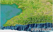 Satellite 3D Map of Granma