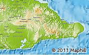 Physical Map of Guantanamo