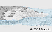 Gray Panoramic Map of Guantanamo