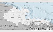 Gray Map of Holguin