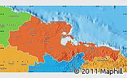 Political Map of Holguin