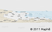 Classic Style Panoramic Map of Holguin