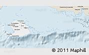Classic Style 3D Map of Isla de la Juventud