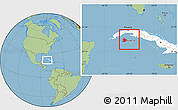 Savanna Style Location Map of Isla de la Juventud, highlighted country