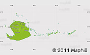 Physical Map of Isla de la Juventud, cropped outside