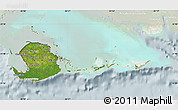 Satellite Map of Isla de la Juventud, lighten