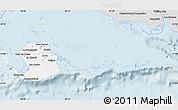 Silver Style Map of Isla de la Juventud