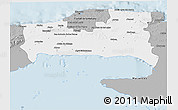 Gray 3D Map of La Habana