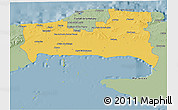Savanna Style 3D Map of La Habana
