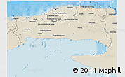Shaded Relief 3D Map of La Habana