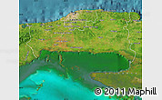 Satellite Map of La Habana