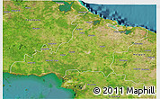 Satellite 3D Map of Las Tunas