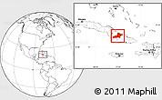 Blank Location Map of Las Tunas